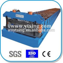 Passed CE and ISO YTSING-YD-6638 Automatic Control Metal Deck Roll Forming Machine