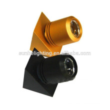 Joyería ajustable de calidad superior 1w alumbrador de aluminio ligero gabinetes