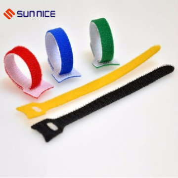 Adjustable Hook and Loop Strap for Fixing Wire