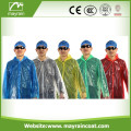 Adult PE Disposable Raincoat