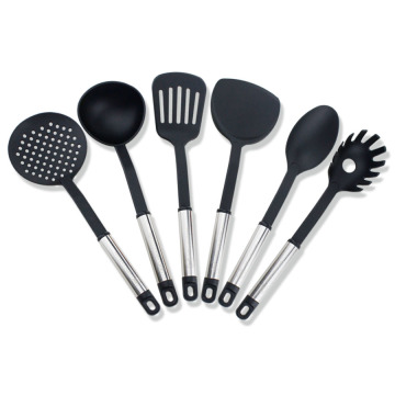Set di utensili da cucina in nylon antiaderente 6PCS