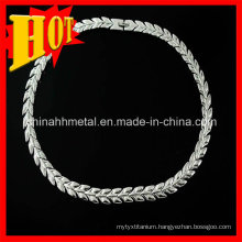 High-Tech Titanium Necklace Titanium Jewelry Price