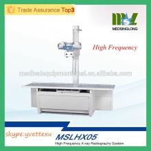 MSLHX05M 2016 Nuevo sistema de radiografía de alta frecuencia de rayos X de alta frecuencia de la máquina de rayos X