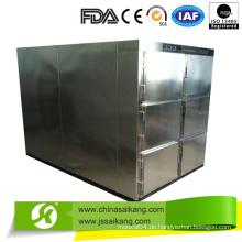 Meistverkauft! Edelstahl Leichenschrank Kühlschrank (6 Leichen)