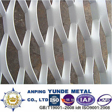 Aluminum Expanded Construction Mesh, PVDF Coated Expanded Mesh