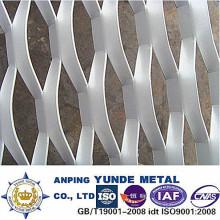 Maille augmentée en aluminium de construction, maille augmentée enduite de PVDF