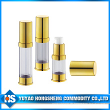 Gold Angemessener Preis Aluminium Flasche mit Lotion Pumpe