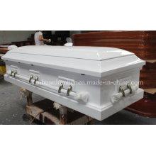Caixão de madeira & caixão / Cakset para Funeral produto / American Style Cakset de madeira