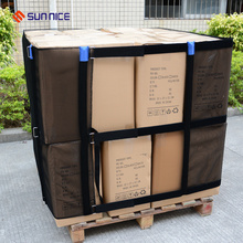 Embalaje reutilizable Shrink Stretch Film para Pallet