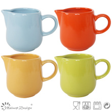 Homestyle Colorful Glaze Stoneware Creamer