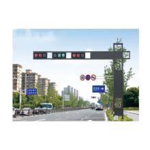 Poste de iluminación de señal de tráfico de acero galvanizado