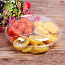 Récipient de salade de fruits de kiwi de banane en plastique de tomate
