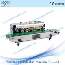 Mancha de aço contínuo industrial Plastic Sealing Machine