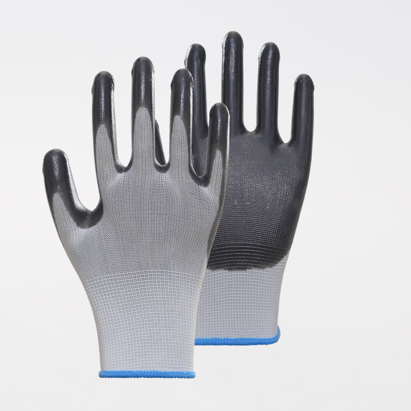 Factory Price Nitrile Safety Gloves
