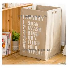 Faltbarer Wäschekorb aus Pappe Zusammenlegbarer Wäschekorb