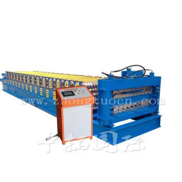 Rollo de hoja de tejado de doble capa de alta calidad que forma la máquina