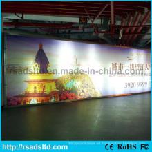 Nueva caja de luz de la publicidad de la materia textil de la tela del diseño LED