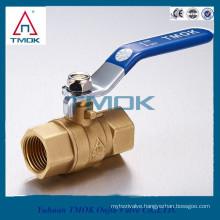 TMOK lockable bronze ball valve brass ball valve with key brass ball valve with lock water meter