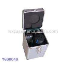 étui de protection de matériel solide en aluminium avec mousse personnalisée insert en gros