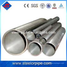 Fabricante de alta precisión del fabricante del tubo de acero sin hilos de 34m m en alibaba