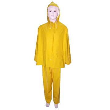 Womens Yellow PVC Rainsuit