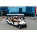 11 Passagiere Elektro Sightseeing Auto für Urlaubsort