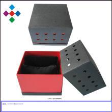 Caixa de presente de Michaels para relógio de caixa de embalagem de caixa de presente de relógio