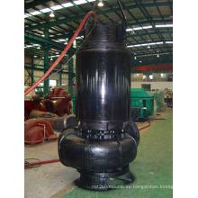 Eficiencia de la bomba de agua centrífuga riego sumergibles para aguas residuales de no estorbar