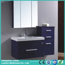 Gabinete de cuarto de baño del MDF con el deslizador silencioso de las bisagras (LT-C046)
