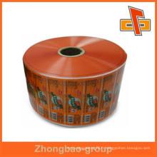 Acceptez la commande personnalisée 2layer / 3layer laminating food class plastic roll film