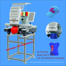 NEW single head embroidery machine prices with 15 colors