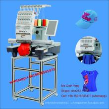 Новая одиночная головная машина вышивки цены с 15 цветов