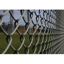 Electro galvanizado de alambre de hierro de malla de enlace de valla de jardín