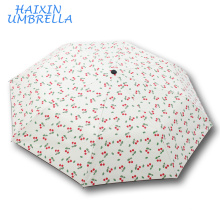 100% polyester Japanese Advertising Cherry Print Outdoor Parasol Wholesale Custom Anti UV Sun New Model Umbrella Factory China