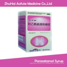 Antipyretic Analgesic Medicial Paracetamol Syrup
