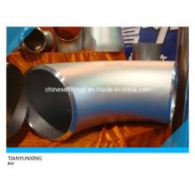 ANSI 90 Deg sin soldadura de acero inoxidable accesorios de tubería Codo