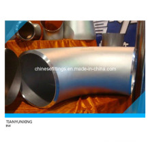 Raccords en tuyaux en acier inoxydable ANSI 90 degrés Elbow