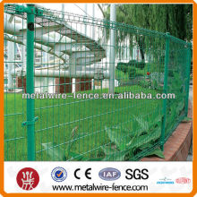 Powder coated double circle wire mesh fencing