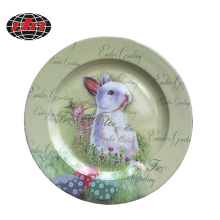 Easter Design Plastic Charger Plate