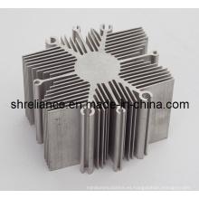 Aleación de aluminio / aleación de aluminio extruido disipadores de calor industriales