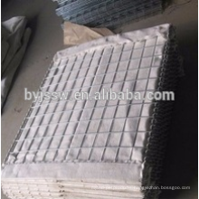 Army used welded hesco barrier/hesco bastion/gabion mesh box manufacture