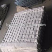 O exército usou a barreira de hesco soldada / hesco bastion / gabion mesh box manufacture