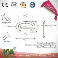 516g100 Galvanized Material Hog Ring / C-Ring