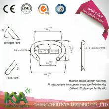516g100 Material galvanizado anel de porco / anel em C