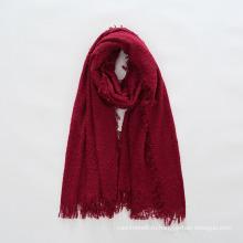 Женщин мягкий кашемир чувствовать одинаково круг пряжи твердых украл шаль шарф (СП 289)