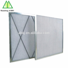 aluminum frame industrial primary pleated G3 G4 air filters