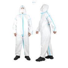 Медицинская полоска защитная одежда белая