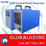 Personal care ozone generator for killing bacteria in air and water