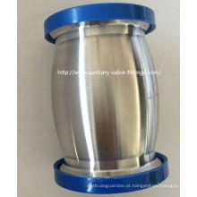 38 milímetros de aço inoxidável tipo bola válvula de retenção higiênica para o equipamento de leite