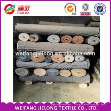Tissu de stock de denim en gros T / C tissé ou tissu rayé de Shirting de fil avec le prix bon marché